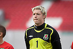 Wales Wayne Hennessey during the International Friendly between Wales and Luxembourg at Parc y Scarlets in LLanelli..