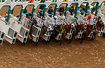 VieDEL MAR, CA  JULY 31: Different angles of the start of a race on July 31, 2021 at Del Mar Thoroughbred Club in Del Mar, CA. (Photo by Casey Phillips/Eclipse lSportswire/CSM)