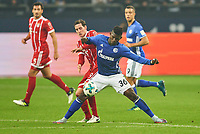 Sebastian RUDY, FCB 19   ,   -  Breel EMBOLO, S04 36  , , general viel, Spielszene , Tackling, Ball, Einzel , <br /> FC SCHALKE 04 - FC BAYERN MUENCHEN <br /> Football 1. Bundesliga , Gelsenkirchen,19.09.2017, 5. match day,  2017/2018, 1.Liga, 1.Bundesliga,FCB<br />  *** Local Caption *** © pixathlon<br /> Contact: +49-40-22 63 02 60 , info@pixathlon.de