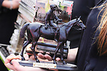 October 06, 2019, Paris (France) - One of the Winners Trophy for the Prix de l'Arc de Triomphe (Gr I) on October 6 in ParisLongchamp. [Copyright (c) Sandra Scherning/Eclipse Sportswire)]