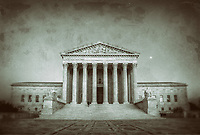 United States Supreme Court Building Washington DC Black and White Photography Washington DC Art - - Framed Prints - Wall Murals - Metal Prints - Aluminum Prints - Canvas Prints - Fine Art Prints Washington DC Landmarks Monuments Architecture