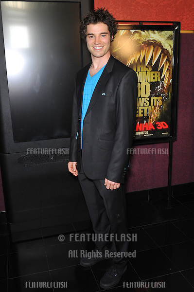 """Brian Kubach at the Los Angeles premiere of his new movie """"Piranha 3D"""" at Mann's Chinese 6 Theatre, Hollywood..August 18, 2010  Los Angeles, CA.Picture: Paul Smith / Featureflash"""