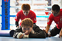 Boxing: Naoya Inoue during media workout