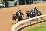 April 17, 2021: .#6 Wicked Street ridden by David Cabrera with trainer Randy L. Morse wins race 6 at Oaklawn Park on the Apple Blossom undercard at Oaklawn Park in Hot Springs,  Arkansas.  Ted McClenning/Eclipse Sportswire/CSM