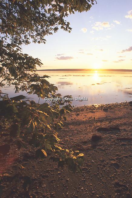 Sunrise at Sears Island, Searsport, Maine, USA