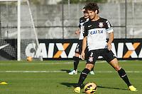 SAO PAULO, SP 18 JULHO 2013 - TREINO CORINTHIANS - O jogador Alexandre Pato do Corinthians, treinou na tarde de hoje, 18, no Ct. Dr. Joaquim Grava, na zona leste de São Paulo. FOTO: PAULO FISCHER/BRAZIL PHOTO PRESS.