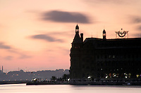 Haydarpasa train station of Orient Express fame, Istanbul, Turkey