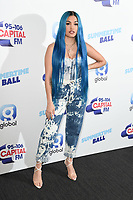 LONDON, UK. June 08, 2019: Mabel poses on the media line before performing at the Summertime Ball 2019 at Wembley Arena, London<br /> Picture: Steve Vas/Featureflash
