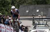 Jasper Stuyven (BEL/Trek-Segafredo)<br /> <br /> Stage 5 (ITT): Time Trial from Changé to Laval Espace Mayenne (27.2km)<br /> 108th Tour de France 2021 (2.UWT)<br /> <br /> ©kramon
