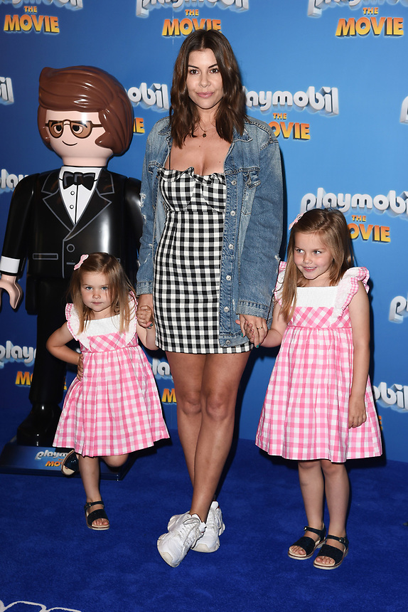 """Imogen Thomas<br /> arriving for the """"Playmobil:The Movie"""" premiere at the Vue Leicester Square, London<br /> <br /> ©Ash Knotek  D3515  04/08/2019"""