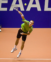13-12-08, Rotterdam, Reaal Tennis Masters, Thiemo de Bakker  Matwe Middelkoop