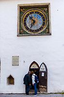 Estonia, Tallinn, Old town, UNESCO World Heritage Site. Post Office.