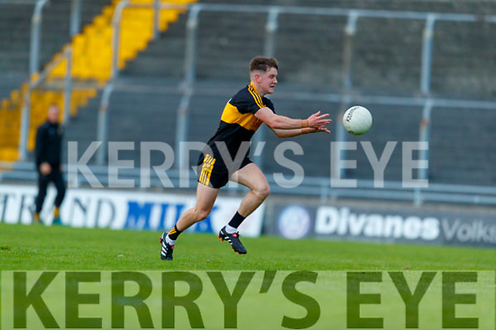 Michael Potts, Dr. Crokes during the Kerry County Senior Football Championship Semi-Final match between Mid Kerry and Dr Crokes at Austin Stack Park in Tralee, Kerry.