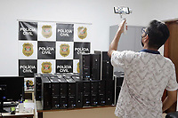 Campinas (SP), 20/01/2021- Policia -Uma ação da Guarda em apoio à Polícia Civil de Campinas (SP) apreendeu dois adolescentes e deteve duas mulheres e dois homens, nesta quarta-feira (20), suspeitos de participação no roubo de computadores em centros de saúde da metrópole e da Defensoria Pública de Limeira (SP). Segundo a corporação, 44 equipamentos foram recuperados nas regiões do Jardim Yeda e Jardim Santa Lúcia.