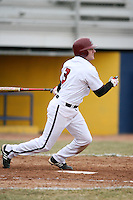 March 22nd 2009:  First baseman Steve Galella (3) of the Rider University Broncs during a game at Sal Maglie Stadium in Niagara Falls, NY.  Photo by:  Mike Janes/Four Seam Images