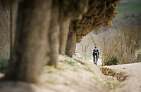 Team SKY race reconnaissance 1 day prior to the 13th Strade Bianche 2019 (1.UWT)<br /> One day race from Siena to Siena (184km)<br /> <br /> ©kramon