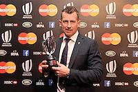 Nigel Owens, winner of the Referee Award  at the World Rugby Awards 2015  - 01/11/2015 - Battersea Evolution, London<br /> Mandatory Credit: Rob Munro/Stewart Communications