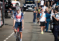 Niklas Eg (DEN/Trek-Segafredo) at the finish up Mont Aigoual<br /> <br /> Stage 6 from Le Teil to Mont Aigoual (191km)<br /> <br /> 107th Tour de France 2020 (2.UWT)<br /> (the 'postponed edition' held in september)<br /> <br /> ©kramon