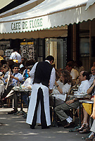 "Europe/France/Ile-de-France/75006/Paris : Le ""Café de Flore"" boulevard Saint-Germain"