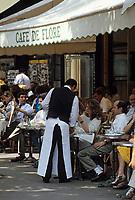 """Europe/France/Ile-de-France/75006/Paris: Le """"Café de Flore"""" boulevard Saint-Germain // Europe / France / Ile-de-France / 75006 / Paris: The """"Café de Flore"""" boulevard Saint-Germain"""
