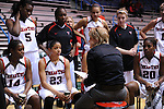 The Texas Tech Lady Raiders defeated the North Dakota Fighting Sioux 82-62 in the the first round of the Tulane DoubleTree Classic played in Fogelman Arena.