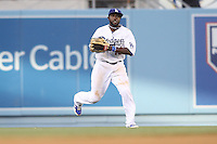 05/20/12 Los Angeles, CA: Los Angeles Dodgers center fielder Tony Gwynn #10 during an MLB game between the St Louis Cardinals and the Los Angeles Dodgers played at Dodger Stadium. The Dodgers defeated the Cardinals 6-5.