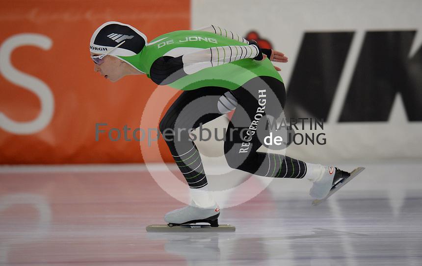 SCHAATSEN: HEERENVEEN, IJsstadion Thialf, 02-10-2020, Michelle de Jong, ©foto Martin de Jong
