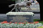 Secretariat Monument Belmont Park on Belmont Stakes Day on June 11, 2011. Belmont Park on Belmont Stakes Day on June 11, 2011.