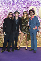 """The Darkness<br /> arriving for the """"Bohemian Rhapsody"""" World premiere at Wembley Arena, London<br /> <br /> ©Ash Knotek  D3455  23/10/2018"""