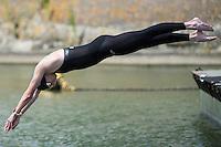 SMITS Pepijn NED<br /> Hoorn, Netherlands <br /> LEN 2016 European Open Water Swimming Championships <br /> Open Water Swimming<br /> Men's 5km<br /> Day 02 12-07-2016<br /> Photo Giorgio Perottino/Deepbluemedia/Insidefoto