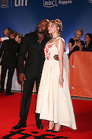 DIRECTOR ANTOINE FUQUA AND HALEY BENNETT - RED CARPET OF THE FILM 'THE MAGNIFICENT SEVEN' - 41ST TORONTO INTERNATIONAL FILM FESTIVAL 2016