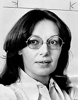 Anne Charney, who is working on a second novel, says that when she was growing up Montreal was like a small town, stifling and boring.<br /> Griffin, Doug<br /> Picture, 1973, English