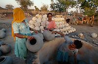 Töpfer, Jodhpur (Rajasthan), Indien