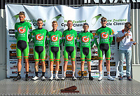 The Olivers Real Food Racing team (Australia). The opening ceremony of the NZ Cycle Classic UCI Oceania Tour at Mitre 10 Mega in Masterton, New Zealand on Tuesday, 16 January 2018. Photo: Dave Lintott / lintottphoto.co.nz
