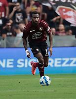 2nd October 2021; Arechi Stadium, Salerno, Italy; Serie A football, Salernitana versus Genoa : Lassana Coulibaly of Salernitana
