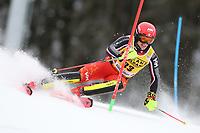 21st December 2020; Alta Badia Ski Resort, Dolomites, Italy; International Ski Federation World Cup Slalom Skiing; Erik Read (CAN)
