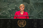 General Assembly Seventy-fourth session: Opening of the general debate<br /> AM<br /> <br /> CROATIA