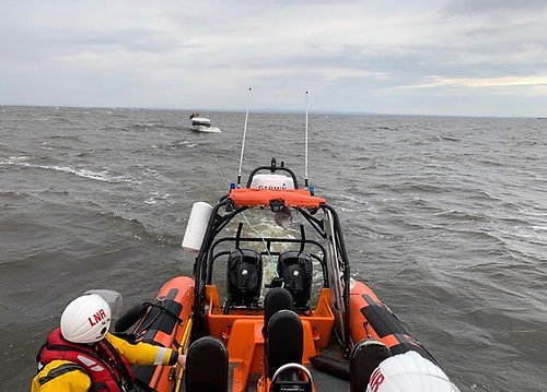 Lough Neagh Rescue Tasked to Broken Down Motor Boat