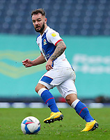 Blackburn Rovers' Adam Armstrong<br /> <br /> Photographer Alex Dodd/CameraSport<br /> <br /> The EFL Sky Bet Championship - Blackburn Rovers v Nottingham Forest - Saturday 17th October 2020 - Ewood Park - Blackburn<br /> <br /> World Copyright © 2020 CameraSport. All rights reserved. 43 Linden Ave. Countesthorpe. Leicester. England. LE8 5PG - Tel: +44 (0) 116 277 4147 - admin@camerasport.com - www.camerasport.com