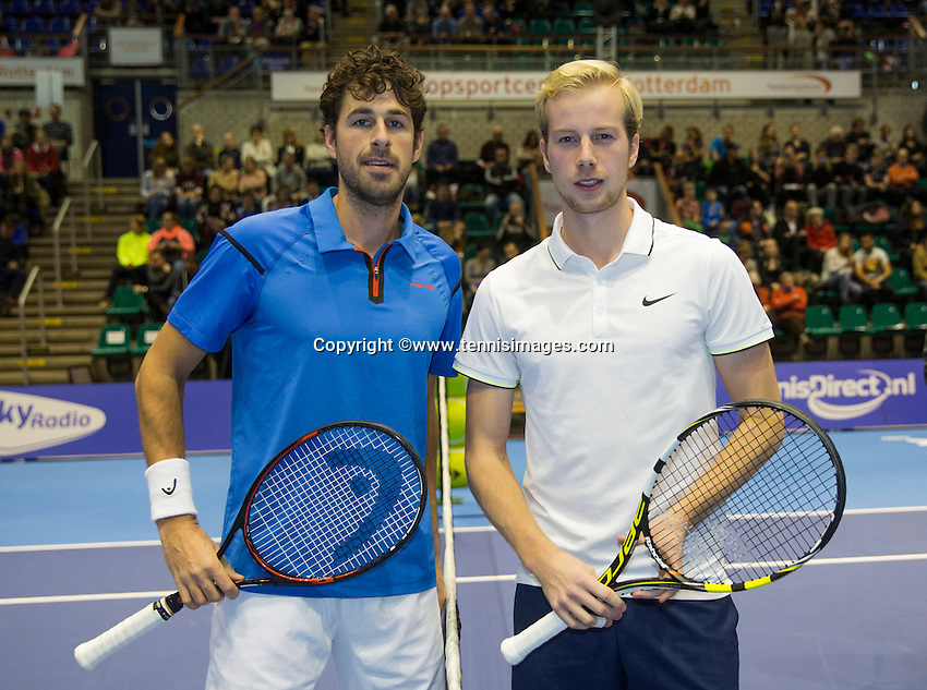 Rotterdam, Netherlands, December 18, 2016, Topsportcentrum, Lotto NK Tennis, <br /> Photo: Tennisimages/Henk Koster