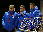 Martyn Waghorn, David Templeton and Cammy Bell