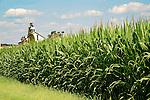 Curt and Christine Brubaker farm, Beaver Run Road, Union County, PA. Entrance.