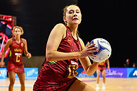 24th September 2021: Christchurch, New Zealand;  George Fisher of England during the third Cadbury Netball Series/Taini Jamison Trophy, New Zealand Silver Ferns versus England Roses, Christchurch Arena, Christchurch, New Zealand