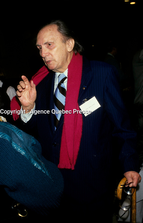 Montreal (Qc) CANADA - 1993 File Photo - Guy Boulizon