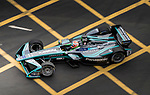 Nelson Piquet Jr of Brazil from Panasonic Jaguar Racing on track at the Formula E Non-Qualifying Practice 3 during the FIA Formula E Hong Kong E-Prix Round 2 at the Central Harbourfront Circuit on 03 December 2017 in Hong Kong, Hong Kong. Photo by Victor Fraile / Power Sport Images