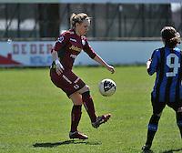 Dames Club Brugge - SV Zulte Waregem : Catherine Szynal.foto DAVID CATRY / Nikonpro.be