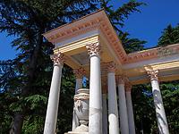 Kolonnade, Stadtpark in Kutaisi, Imeretien - Imereti;, Georgien, Europa<br /> colonnade city park, Kutaisi,  Inereti,  Georgia, Europe