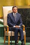 DSG meeting<br /> <br /> AM Plenary General DebateHis<br /> <br /> <br /> His Excellency Borut PAHOR President of the Republic of Slovenia