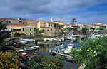 Italy, Sardinia, Stintino: up-coming resort at the north coast