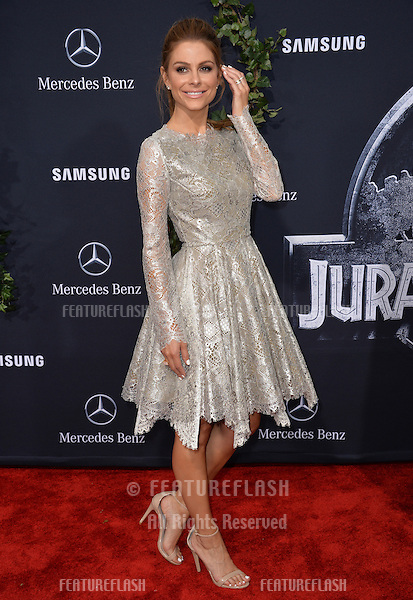 """Maria Menounos at the world premiere of """"Jurassic World"""" at the Dolby Theatre, Hollywood.<br /> June 10, 2015  Los Angeles, CA<br /> Picture: Paul Smith / Featureflash"""